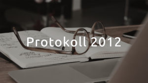 Styrelseprotokoll 2012